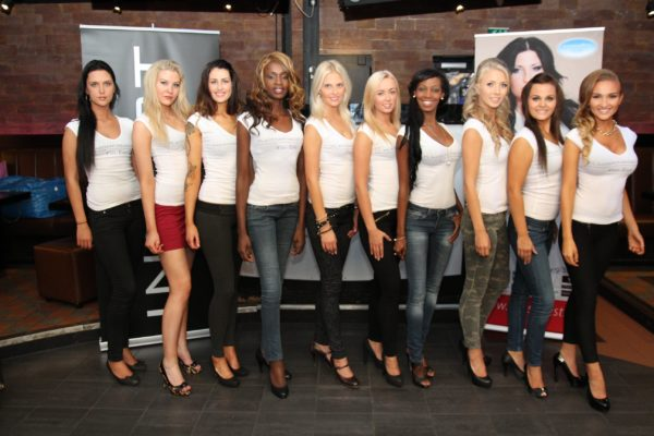 Miss Finest-2013 finalistit.